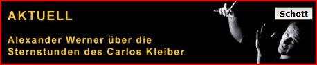 Carlos Kleiber bei Schott